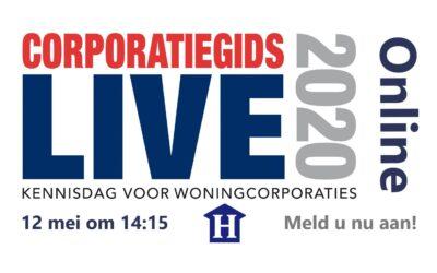 CorporatieGids Live Kennisdag Online: 'Ook dé ERP oplossing voor de digitale ambulante medewerker'